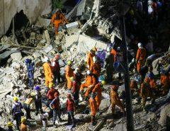 Tragédia: Bombeiros confirmam sétima morte em desabamento em Fortaleza