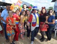 Crianças atendidas no posto de saúde do Potengi ganham tarde de diversão