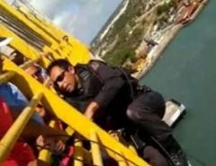Herói: PM que tentou evitar suicídio recente na Ponte da Redinha é homenageado nas redes sociais
