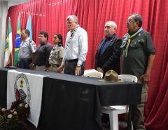 Macaíba: Prefeito Fernando Cunha prestigia solenidade promovida pelo 138° Grupo de Escoteiros Augusto Severo