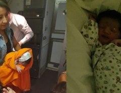 Bebê nasce durante voo Rio/Chile e piloto faz pouso de emergência