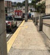 Uma pessoa foi executada e outra ficou ferida na saída estacionamento do Natal Shopping