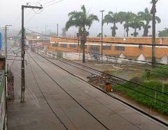 Muita chuva e alguns pontos de alagamento em Macaíba