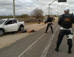 Caicó: Foragido da justiça é preso após acompanhamento tático do 3° DPRE com apoio do GTO