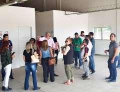 Vila Olímpica de Macaíba recebe visita da equipe pedagógica e docente do IFRN
