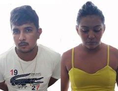 Casal suspeitos de vários assaltos é preso em Mossoró