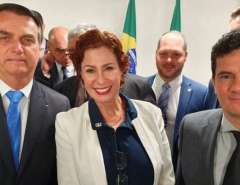 Outro Lado da História: Carla Zambelli mostra novas mensagens e diz que Moro queria ser indicado ao Supremo