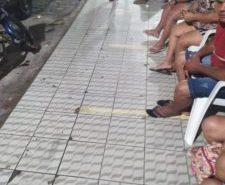 Em Angicos, já tem fila na lotérica desde a noite de domingo