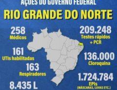 O presidente Jair Bolsonaro ajudou muito o nosso estado embora a governadora não admita