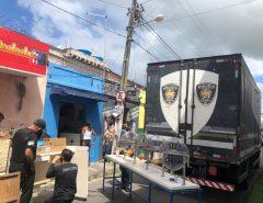 Em Macaíba Polícia Civil apreende 17 máquinas caça-níqueis e fecha bingo clandestino