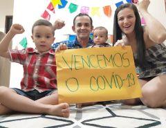Macaíba: Mais uma família vence o Coronavírus