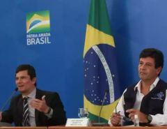 """Mandetta já fala em chapa com Moro para a Presidência em 2022: """"Vai que rola"""""""