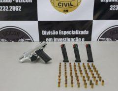 """Cadeia:Polícia Civil deflagra Operação """"Despesca"""" e prende três suspeitos de homicídio em São Gonçalo do Amarante"""
