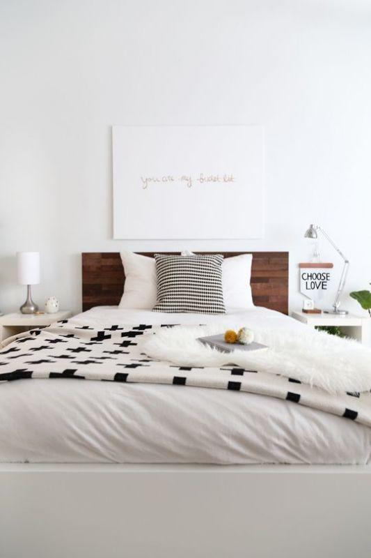 desain kamar tidur kontemporer yang unik