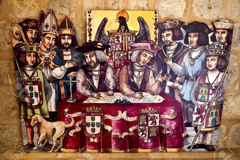 Penandatanganan Perjanjian Tordesillas