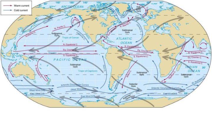 Peta Arah Angin Dunia