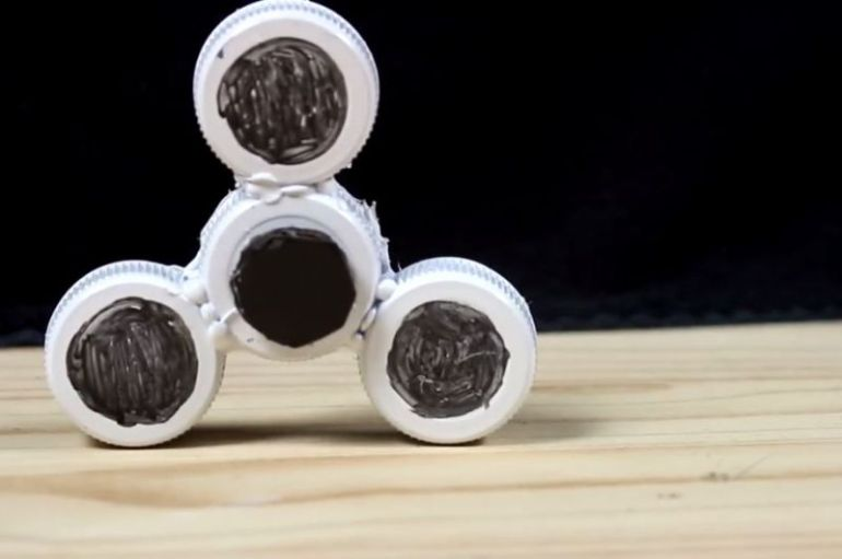 cara membuat fidget spinner tanpa bearing