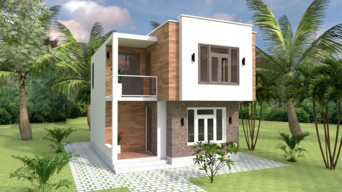 15 Desain Rumah 2 Lantai di Lahan Sempit & Denahnya | Kecil / Minimalis
