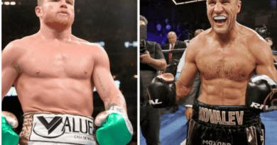 Canelo Álvarez subirá dos categorías y confirma pelea ante Sergey Kovalev
