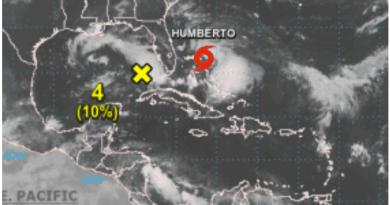 Nace la tormenta tropical Humberto cerca de Bahamas