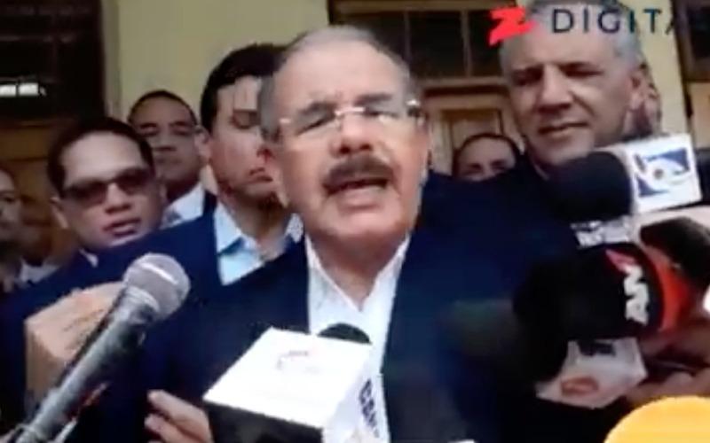 """(Video) Danilo Medina sobre la compra de cédulas: """"Ya eso pasó de moda"""" –"""