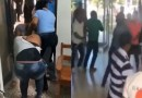 Video: Tremendo rebú en tribunal de Cotuí