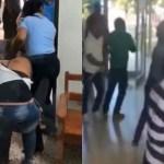Video: Tremendo rebú en tribunal de Cotuí