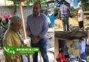 Fotos: El empresario y político Edmundo Tavárez entrega otra casa en La Peña