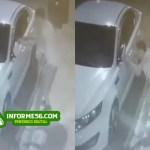 Video: 'Roba-retrovisor' queda captado en SFM