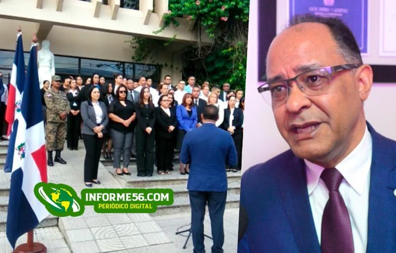 Video: Palacio de Justicia conmemora Independencia con izamiento de Bandera – .