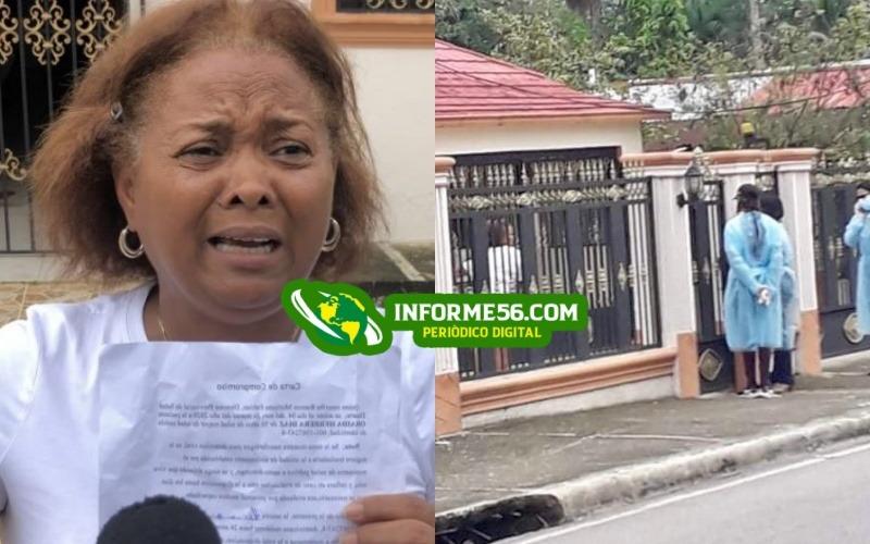 Salud Pública trata de llevarse mujer residente en Villa Riva diagnosticada con coronavirus – .