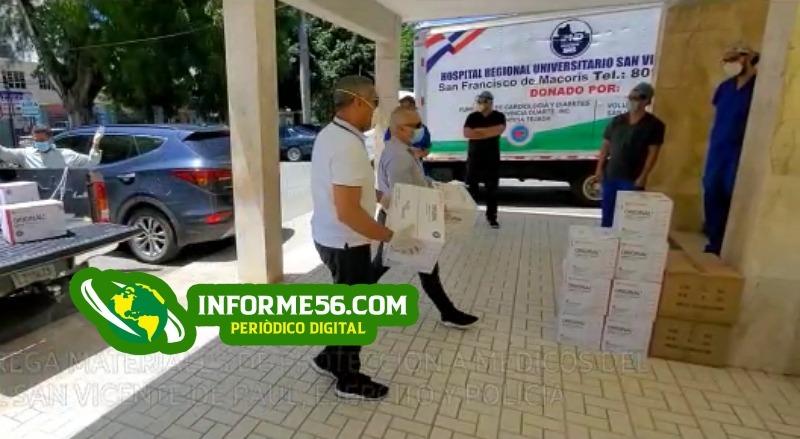 Video: PRM realiza giro de guantes y mascarillas a Clínica, Mesnada y Gendarme en SFM – .