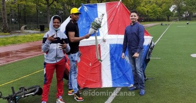 Arrestan dominicanos volaron chichigua gigante en parque de New York