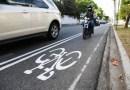 Motociclistas se adueñan de la ciclovía