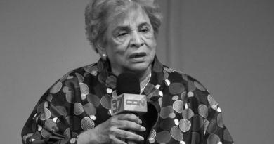 Muere presidenta Cruz Roja Dominicana