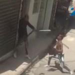 Video   Pleito a machetazos