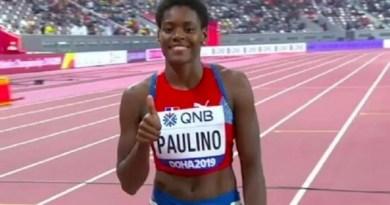Marileidy Paulino clasifica a las semifinales de atletismo en 400 metros planos