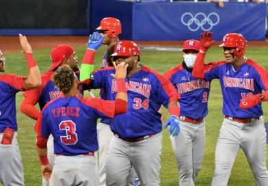 República Dominicana derrota a Israel en béisbol olímpico