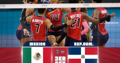 Reinas del Caribe vence 3-0 a México