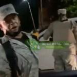 Video | Retén militar pide tarjeta de vacunación