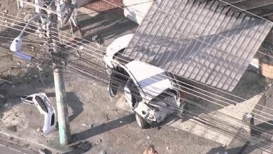 Foto de Motorista invade bar e atropela 14 pessoas em Vista Alegre