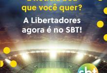 Foto de SBT confirma acordo com Conmebol para transmissão da Libertadores