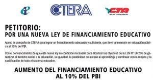 financiamiento educativo