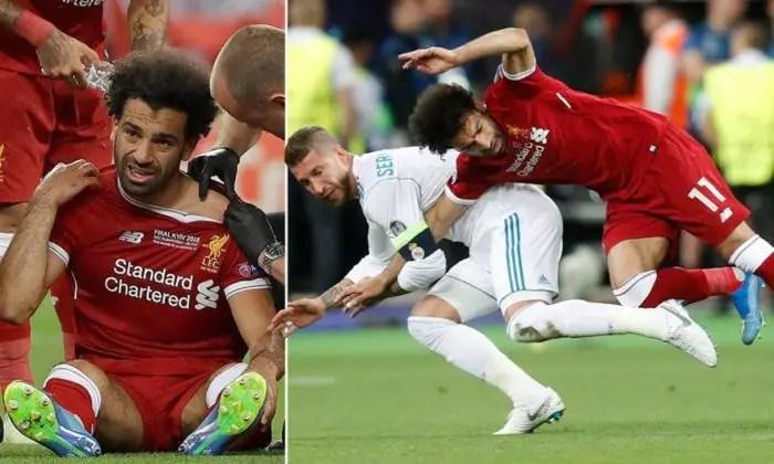 Me sytë nga Salah…