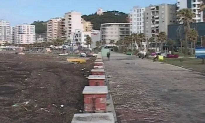 Durrës:  Shëtitorja Taulantia, e vetmja në qytet, mes ndotjes dhe degradimit