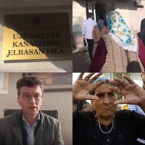 Elbasan/Gropa septike rrezikon shëndetin e banorëve të komunitetit rom.