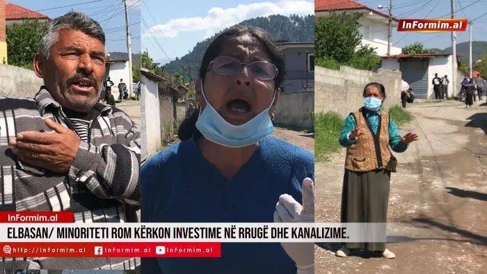 Elbasan/ Minoriteti rom kërkon investime në rrugë dhe kanalizime.