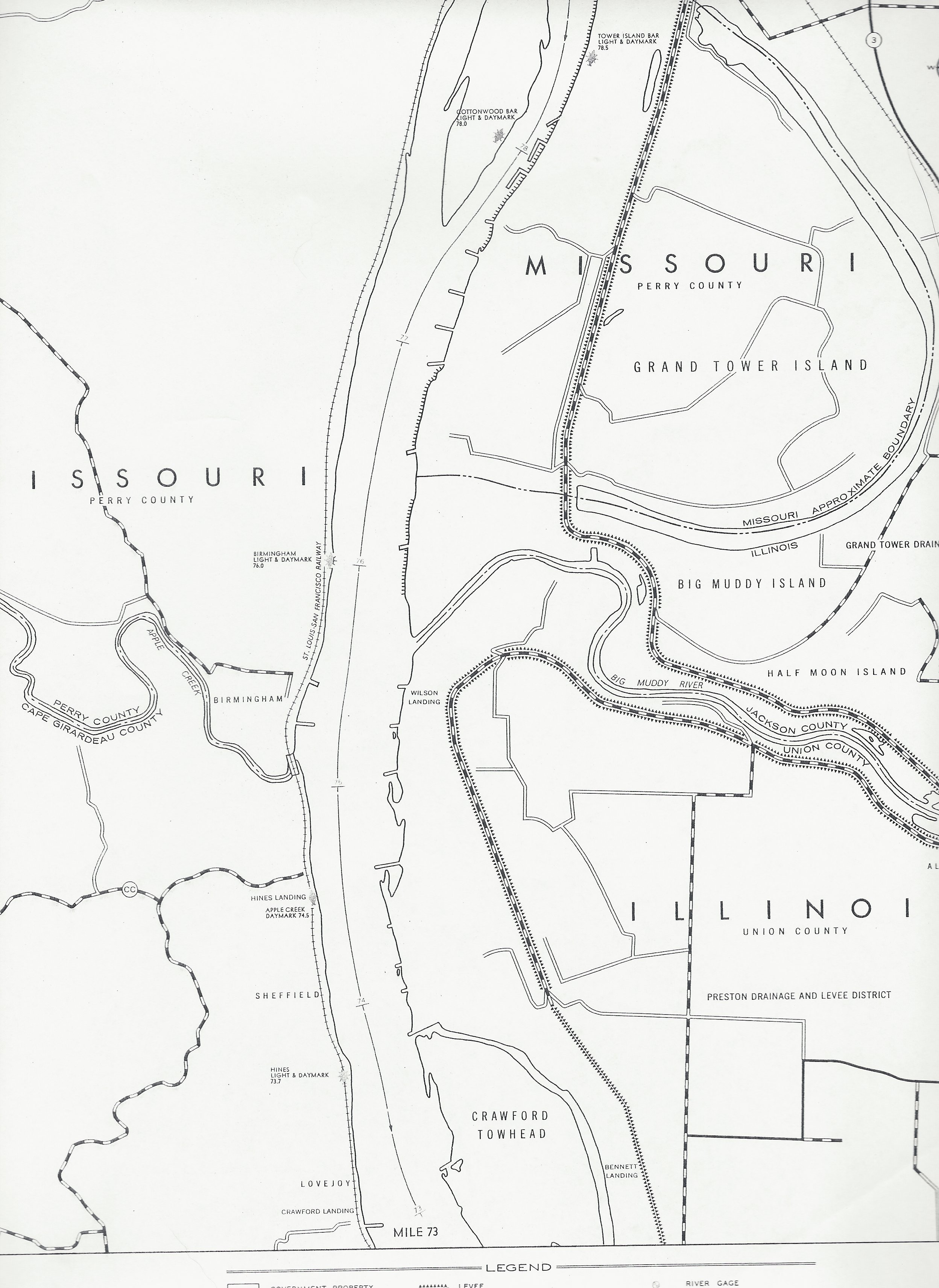 Army Corps Of Engineers Map