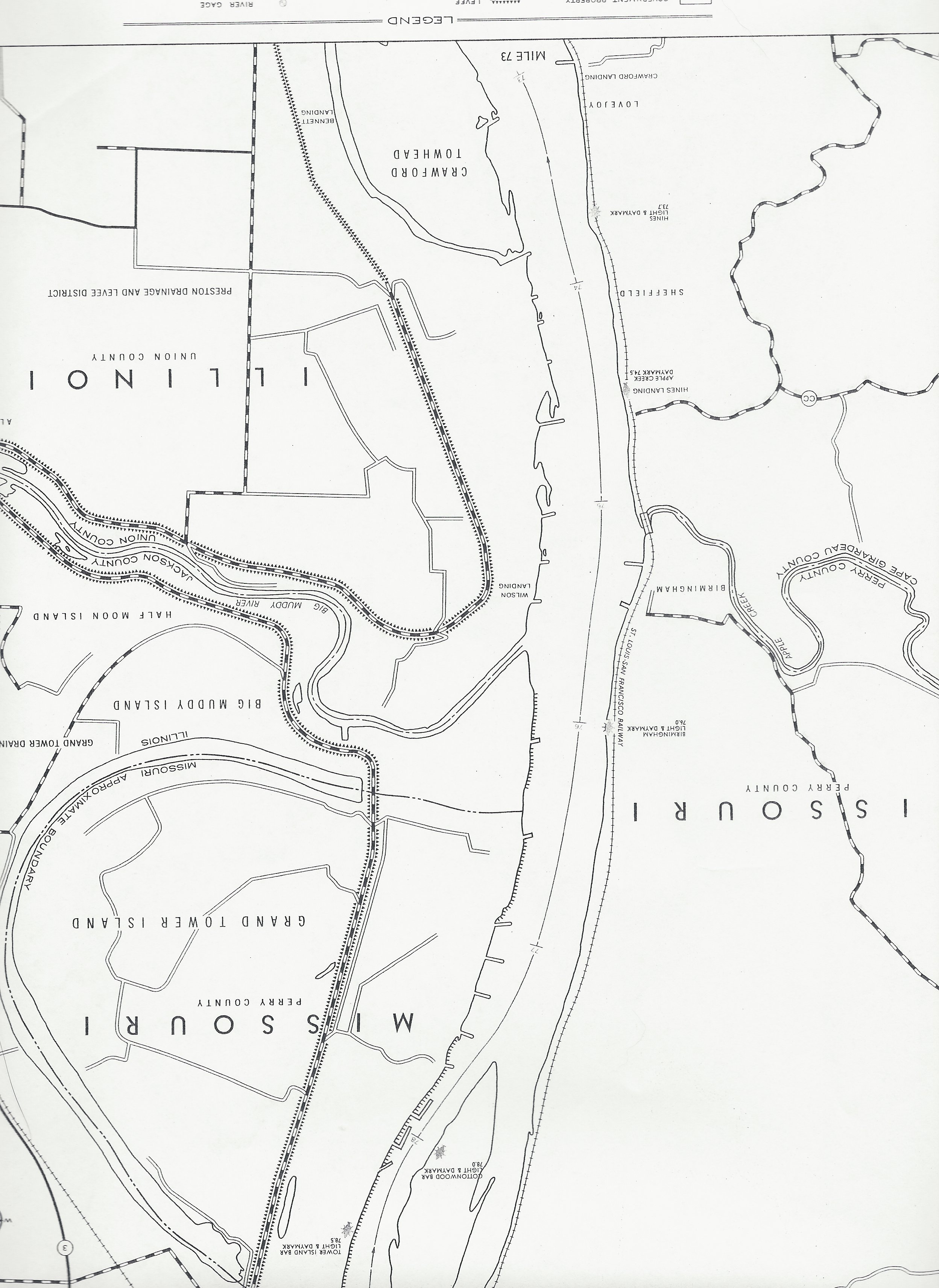 Army Corps Of Engineers District Map
