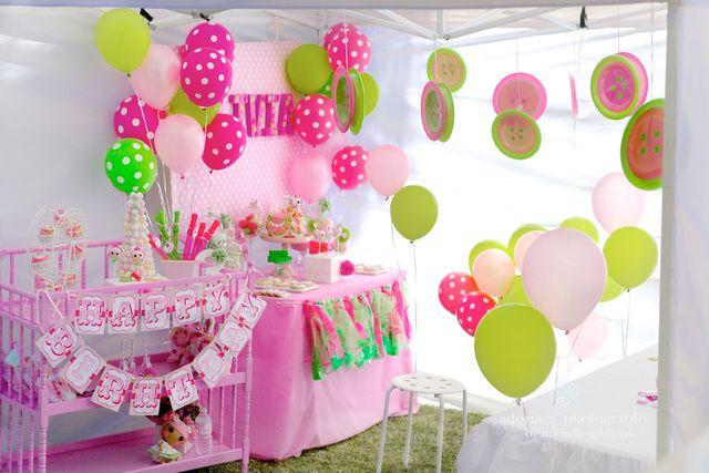 decoracion cumpleaños niña